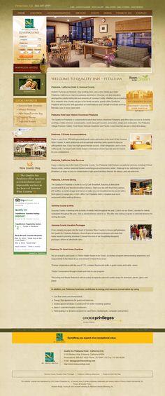 Anche in questo caso, le recensioni degli ospiti sono subito accessibili dalla pagina principale. Presente anche il box di TripAdvisor. Link: http://www.winecountryqi.com/petaluma-hotel-reviews.aspx