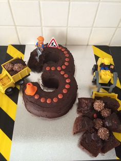 Digger Cake 3 Years Old