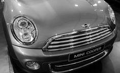 A mean Mini Cooper on display at the Mumbai International Motor show in Mumbai