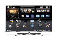 Samsung Smart TV. Conexión a internet y aplicaciones por reconocimiento de voz y fisionomía