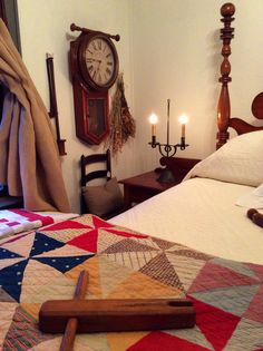 Antique pinwheel quilt colonial