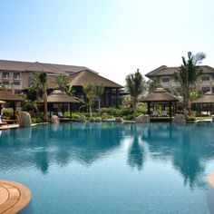 Magnificent views of Sofitel Dubai The Palm Resort and Spa, Palm Jumeirah