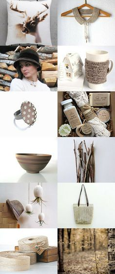 Keep it natural by Tina Lindholm Kanerva on Etsy--Pinned with TreasuryPin.com
