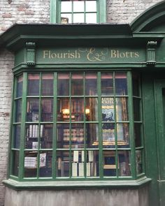 Image discovered by Grace. Find images and videos about harry potter, fantasy and bookstore on We Heart It - the app to get lost in what you love. Slytherin, Books And Tea, Harry Potter Aesthetic, Quiet Storm, Diagon Alley, Shop Fronts, Harry Potter World, Book Nooks, Fantastic Beasts