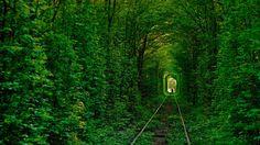 Tunel do Amor - Ucrania