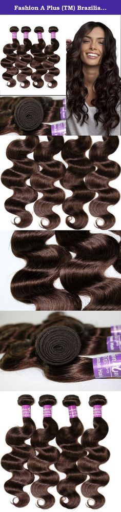 """Fashion A Plus (TM) Brazilian Hair 4 Bundles Body Wave Human Hair Extensions Mixed Length #2 Dark Brown 400g Per Lot 7A Grade (16"""" 18"""" 20"""" 22""""). All of our Hair is 100% human hair. This is ideal for adding length and volume or color without causing damage to your own hair. Made from 100% high quality human hair. The double weft uses environmentally friendly glue that does no harm to the scalp. Hair Extension Type:Weaving Items per Package:4 Pieces/Order Unit Weight:100g(+/-5g)/piece..."""