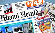 Miami Herald LivingSocial Deal + Receive Weekend Coupon Inserts