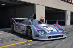 """1975 Porsche Turbo Martini - the only one still existing, at Le Castellet Circuit """"Paul Ricard"""" Sports Car Racing, Racing Team, Race Cars, F1 Racing, Funny Pictures For Kids, Car Pictures, Car Pics, My Dream Car, Dream Cars"""