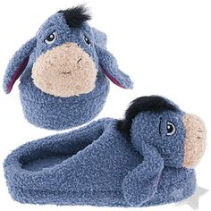 Cozy Eeyore Slippers  I remember when I had these.  Wore them so much, the bottoms got holes in them from being so worn out.  I miss my slippers! =(