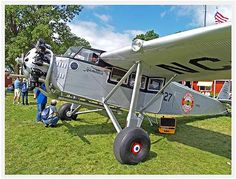 Oshkosh 2010 AvGeek Nation! blog AirPigz: Hamilton H-47 (original Reg875H, Ser65) Vintage Hamilton re-engined and with floats and owned by Howard Wright III of Seattle, WA #boeing #metalplane #vintage #vintageairplane #vintageaircraft #anitqueaircraft #Hamilton  #875H #Seattle