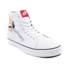 e2d997914f Vans Sk8 Hi Peanuts Lucy Schroeder Skate Shoe