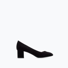COURT SHOE WITH METAL PLATE HEEL-Shoes-Woman-SHOES & BAGS | ZARA United States