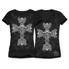 Fashion cross tops found at Katydid Collection.