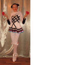 pierot andrea dobrodinska costume created too