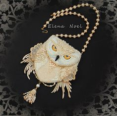 Special item For Heather. 1/2 payment for Owl purse. by ElenNoel