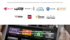 Streaming Web Tv 24 punta sulla qualità dei propri servizi scegliendo solo partner affidabili e professionali. www.streamingwebtv24.it