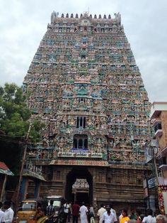Sarangapani Temple, Kumbakonam, India It has a 11 storey gopuram and looks magnificent