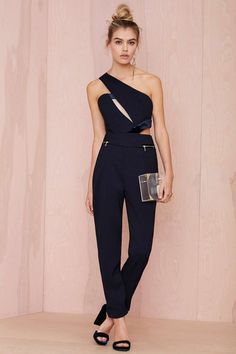 Three Floor Legacy Cutout Jumpsuit | Shop You, Me and the Moon at Nasty Gal ($250)