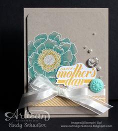 Stampin' Blendabilities look fantastic on Crumb Cake card stock.