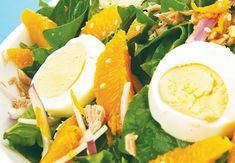 10 healthy salad recipes that are high in protein, low in fat and BIG on flavour!
