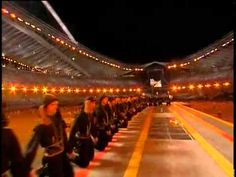 Stunning dance of the Greeks of the Black Sea (Pontians) descending directly form an ancient Greek war dance (PYRRHIC DANCE (ΠΥΡΡΙΧΙΟΣ ΧΟΡΟΣ), Olympic Games - Athens, 2004