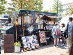 good food market cori Mobile Catering, Street Coffee, Mobile Business, Mobile Shop, Food Stall, Food Trucks, Vintage Trailers, Car Shop, Kiosk