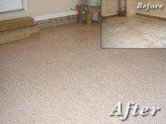 Garage Flooring | Garage Floor Coatings And Epoxy Example