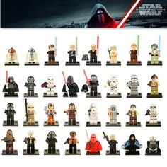 Fashion Style 33+pcs Star Wars General Sith With Lightsaber Figure Toys Building Blocks Compatible With Legoingly Starwars Gift Starwars Blocs Novel Design; In