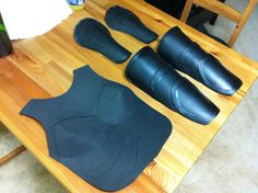 Baroness armor made from craft foam. Good tutorial. She did an excellent job.