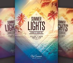 Summer is fast approaching, which means therell be summer parties around every corner. If you are hosting one, why not promote it using our summer flyer designs? Summer Jam, Summer Parties, Flyer Design, Leaflet Design, Summer Dinner Parties
