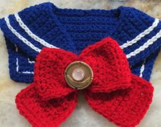 Sailor Moon Collar and front bow