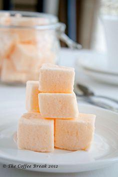 The Coffee Break: Hello New Year and Orange Marshmallow recipe
