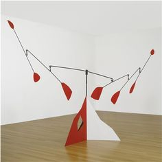 model of alexander calder stabile steel plate steel wire props in 2018 pinterest. Black Bedroom Furniture Sets. Home Design Ideas