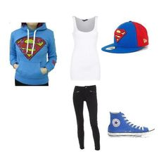Cute Swag Outfits for Teens Super Hero Outfits, Cute Swag Outfits, Tomboy Outfits, Casual Outfits, I Love Fashion, Teen Fashion, Fashion Outfits, Style Fashion, Superman Outfit