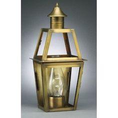 Northeast Lantern Uxbridge 1 Light Outdoor Flush Mount Finish: Dark Antique Brass, Shade Type: Clear