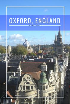 Oxford In One Day