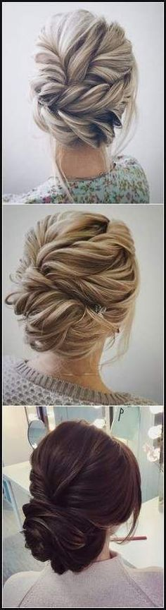 10 die Atemberaubenden Up-Do Frisuren | Beauty | Pinterest ... | Einfache Frisuren
