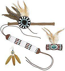 Inspiration, alle Accessoires und ein Makeup-Tutorial, mit dem du dein Indianerin Kostüm selber machen kannst.