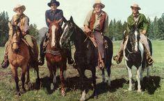 The horses of Bonanza and the Cartwright men