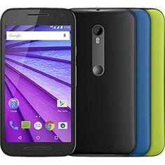 """Smartphone Motorola  Moto G 3ª Geração Ds Colors HDTV Dual Chip Desbloqueado Oi Android 5"""" 16GB Wi-Fi Câmera 13MP + 2 capas - Preto"""