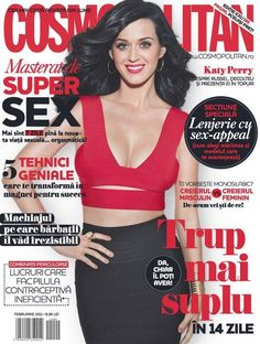 Katy Romania February 2011 cover