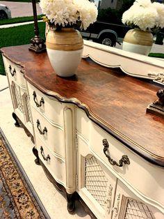 Made To Order: Vintage Elegant French Provincial Solid Wood Buffet, Dresser, Sideboard, Credenza on Etsy, $0.20