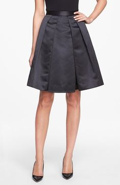 Pink Tartan 'Tabitha' Satin Skirt available at #Nordstrom