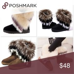 Ugg Style Cold Weather Furry Boots No Trades Price Firm Shoes