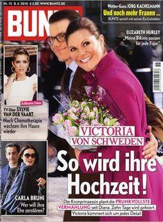 2010: Victoria von Schweden und Daniel Westling