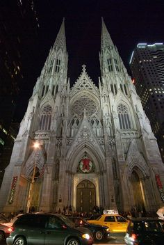 St. Patrick's Cathedral, New York City. What an amazing beautiful building. I was not lost, nor abandoned there, but when you THINK you are, it's all the same.