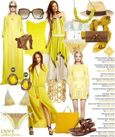 Forecasting yellow for Spring 2012...love it!