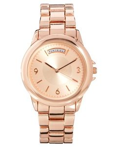 Image 1 of ASOS Day Window Boyfriend Watch