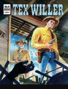 Lehtipisteissä 20.4.2016! Ja tilaajilla totutusti pieni varaslähtö parhauteen... #Tex #sarjis #western