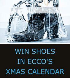 Win Shoes in ECCO's Xmas Calendar